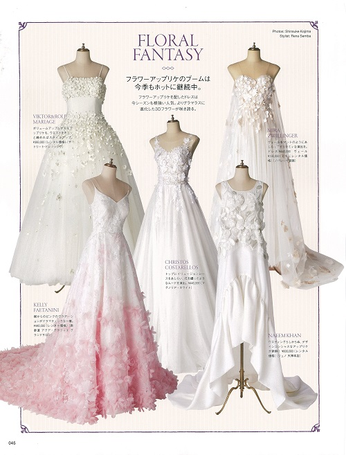 VOGUE WEDDING dress JUNO color dress NAEEM KKHAN ジュノ ナイームカーン